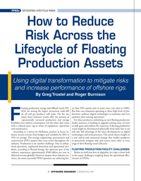 Offshore Engineer Magazine, page 18,  Sep 2021