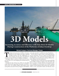 Offshore Engineer Magazine, page 22,  Sep 2021