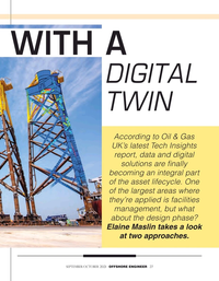 Offshore Engineer Magazine, page 27,  Sep 2021