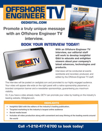 Offshore Engineer Magazine, page 1,  Sep 2021