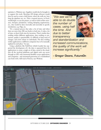Offshore Engineer Magazine, page 29,  Sep 2021