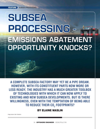 Offshore Engineer Magazine, page 34,  Sep 2021