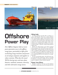 Offshore Engineer Magazine, page 46,  Sep 2021