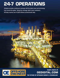 Offshore Engineer Magazine, page 4th Cover,  Sep 2021
