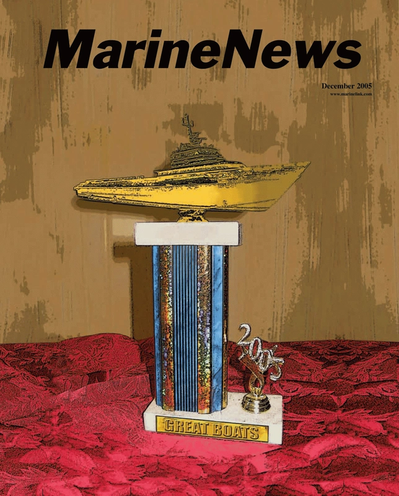 Cover of December 2005 issue of Marine News Magazine