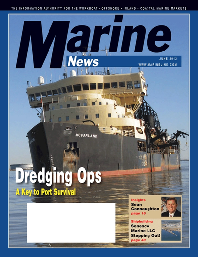 Cover of June 2012 issue of Marine News Magazine
