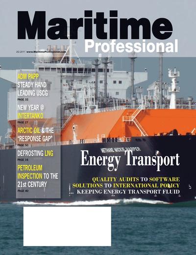 Cover of Q2 2011 issue of Maritime Logistics Professional Magazine