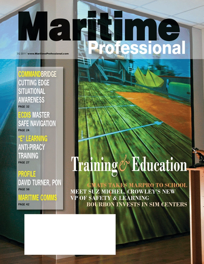 Cover of Q3 2011 issue of Maritime Logistics Professional Magazine