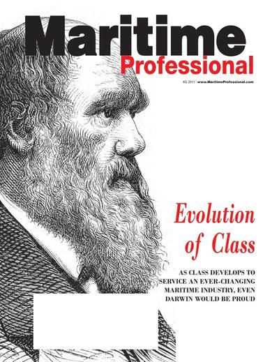 Cover of Q4 2011 issue of Maritime Logistics Professional Magazine