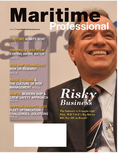 Cover of Q2 2012 issue of Maritime Logistics Professional Magazine