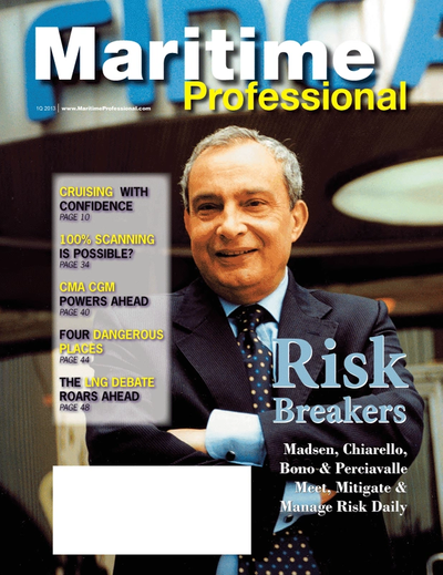 Cover of Q1 2013 issue of Maritime Logistics Professional Magazine