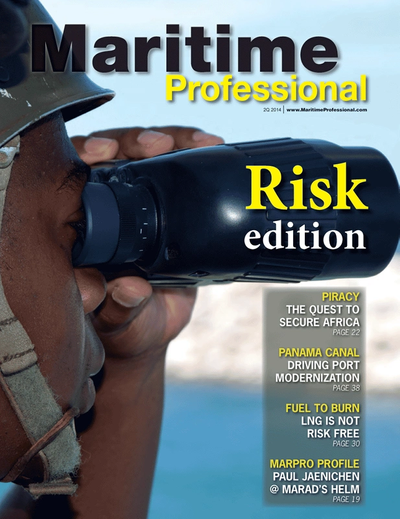 Cover of Q2 2014 issue of Maritime Logistics Professional Magazine