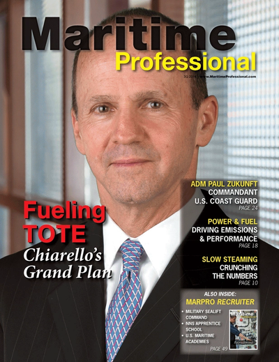 Cover of Q3 2014 issue of Maritime Logistics Professional Magazine