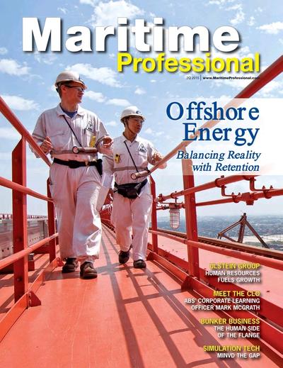 Cover of Q2 2015 issue of Maritime Logistics Professional Magazine
