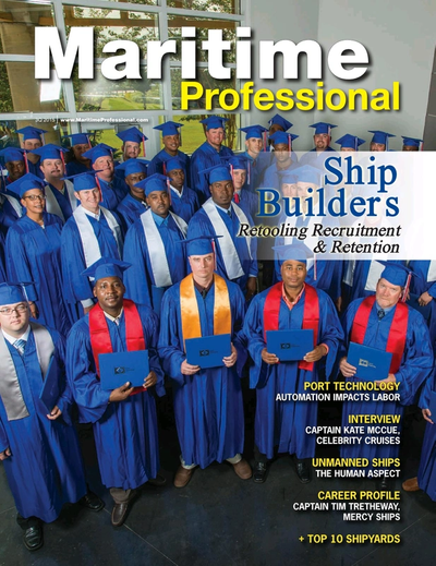 Cover of Q3 2015 issue of Maritime Logistics Professional Magazine