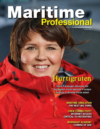 Cover of Q1 2016 issue of Maritime Logistics Professional Magazine