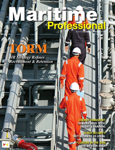 Cover of Q2 2016 issue of Maritime Logistics Professional Magazine