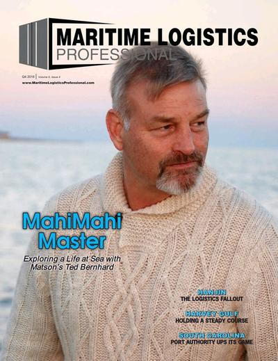 Cover of Q4 2016 issue of Maritime Logistics Professional Magazine