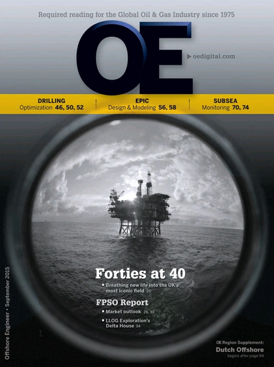 Cover of Sep/Oct 2015 issue of Offshore Engineer Magazine