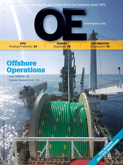 Cover of Feb/Mar 2017 issue of Offshore Engineer Magazine