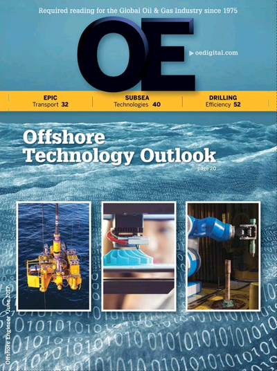 Cover of Jun/Jul 2017 issue of Offshore Engineer Magazine