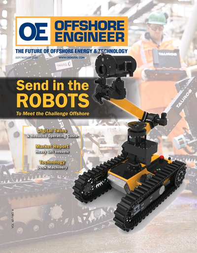 Cover of Jul/Aug 2020 issue of Offshore Engineer Magazine