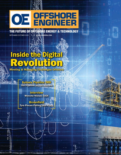 Cover of Sep/Oct 2020 issue of Offshore Engineer Magazine