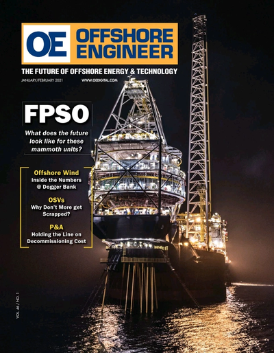 Cover of Jan/Feb 2021 issue of Offshore Engineer Magazine