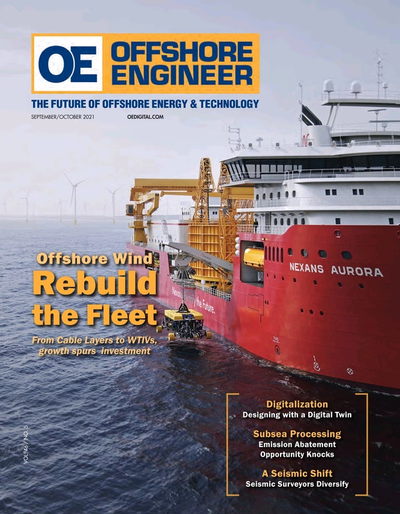 Cover of Sep/Oct 2021 issue of Offshore Engineer Magazine