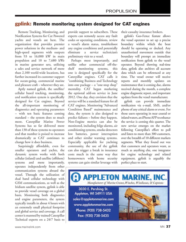 Marine News Magazine, page 37,  Feb 2013