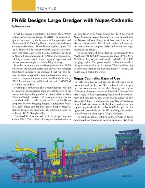 Marine News Magazine, page 10,  Mar 2013 Ministry of Transportation and Communication?s Kaoshing Harbor