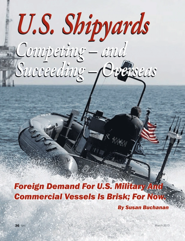 Marine News Magazine, page 36,  Mar 2013 United States