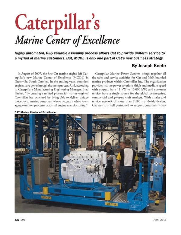Marine News Magazine, page 44,  Apr 2013 Cat