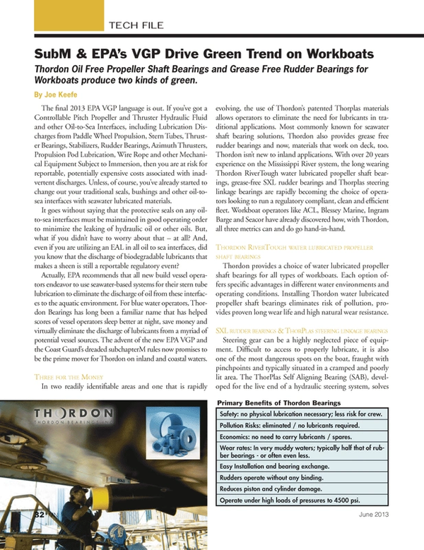 Marine News Magazine, page 32,  Jun 2013