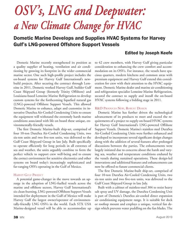 Marine News Magazine, page 38,  Aug 2013