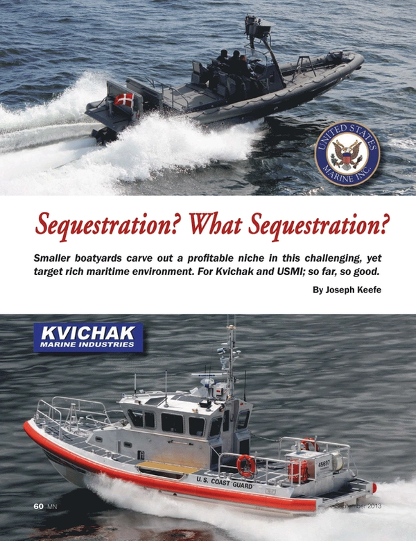 Marine News Magazine, page 60,  Sep 2013 Joseph Keefe