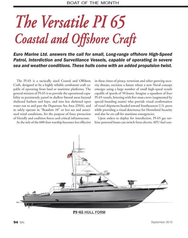 Marine News Magazine, page 94,  Sep 2013