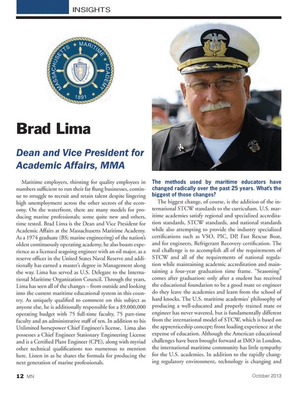 Marine News Magazine, page 12,  Oct 2013 United Nations