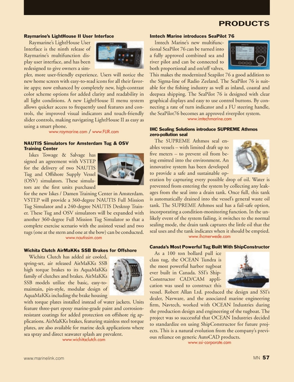 Marine News Magazine, page 57,  Dec 2013