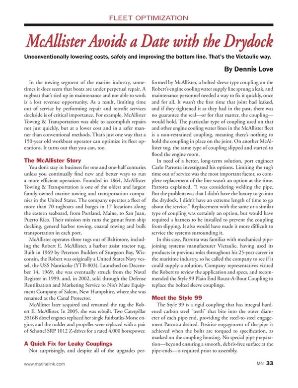 Marine News Magazine, page 33,  Mar 2014