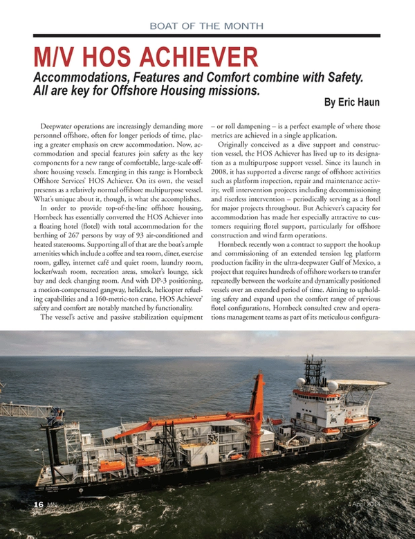 Marine News Magazine, page 16,  Apr 2014