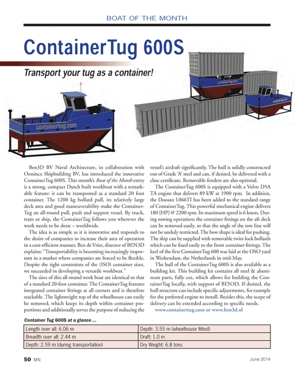 Marine News Magazine, page 50,  Jun 2014
