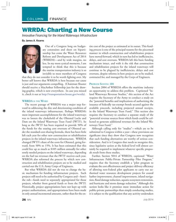 Marine News Magazine, page 26,  Jul 2014