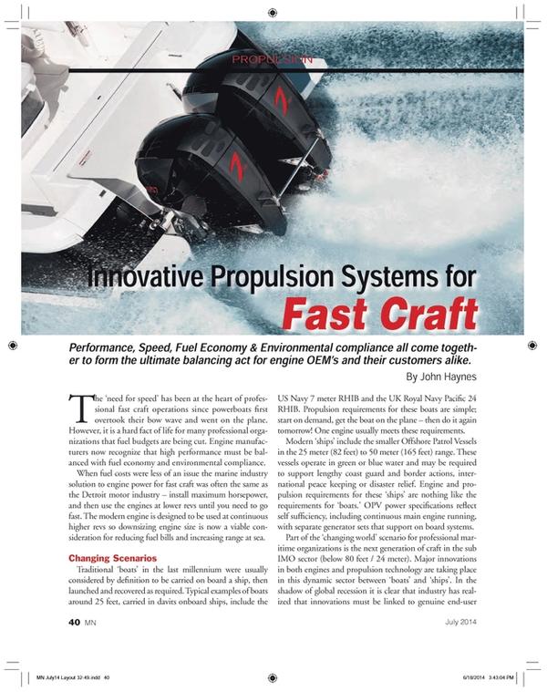 Marine News Magazine, page 40,  Jul 2014