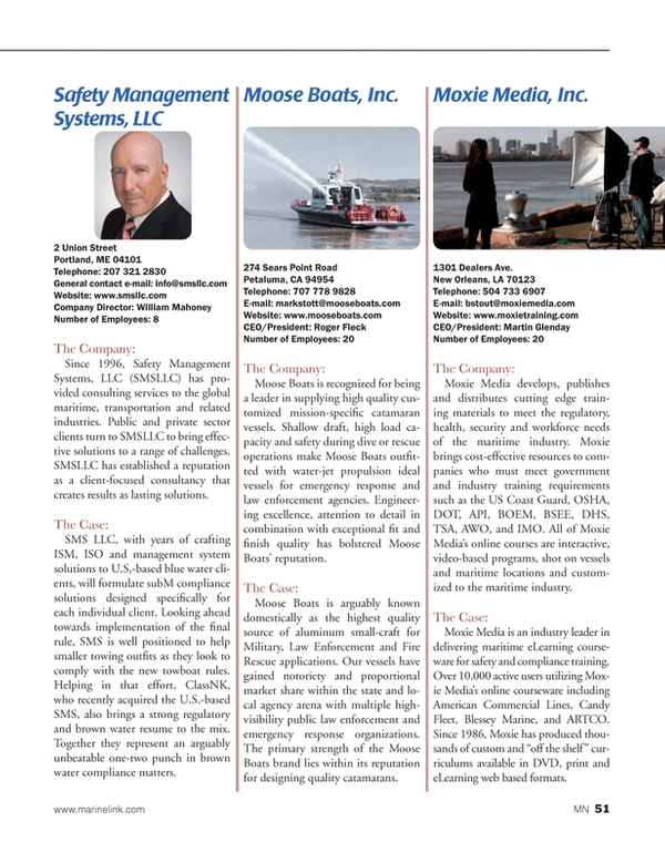 Marine News Magazine, page 51,  Aug 2014