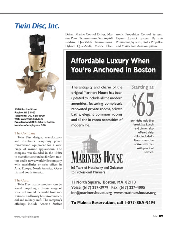 Marine News Magazine, page 69,  Aug 2014