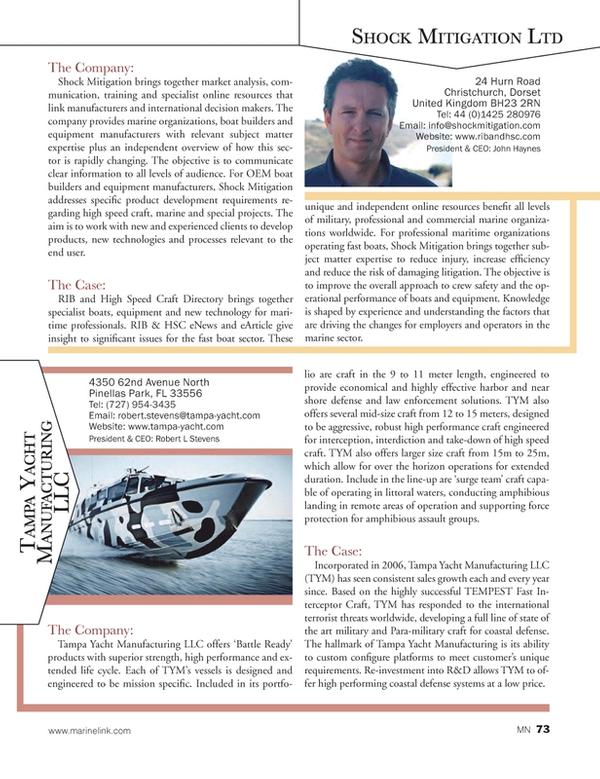 Marine News Magazine, page 73,  Aug 2014