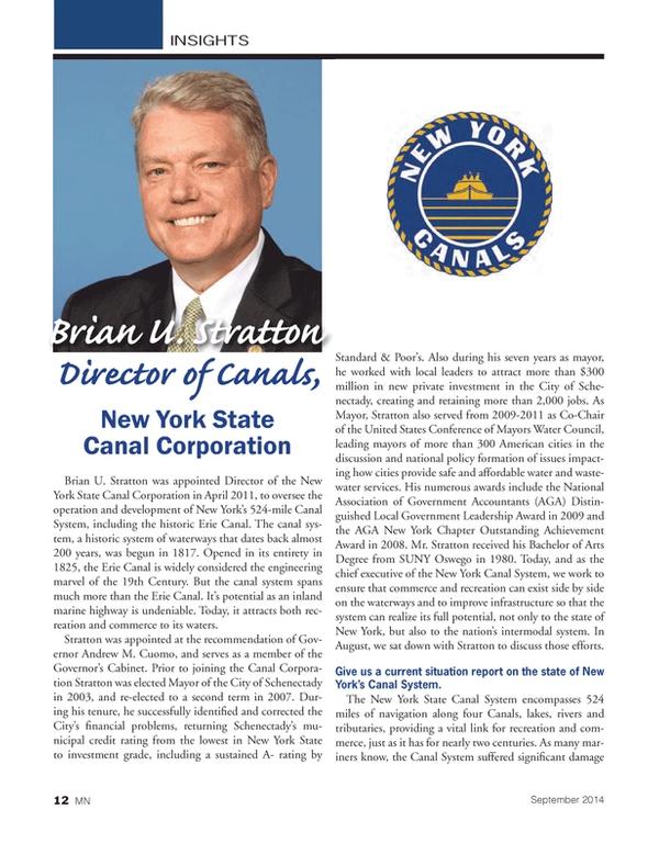 Marine News Magazine, page 12,  Sep 2014