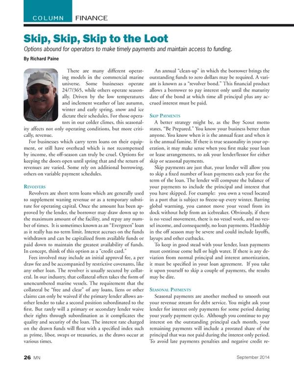 Marine News Magazine, page 26,  Sep 2014