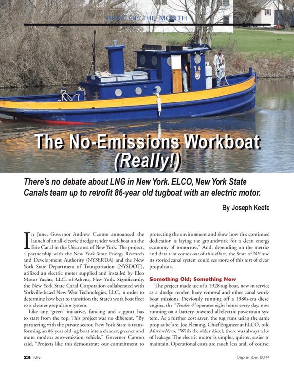 Marine News Magazine, page 28,  Sep 2014